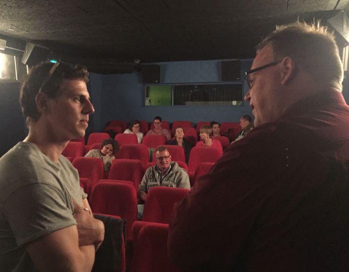 Mike Weerts samen met GGZ Ecademy-directeur Arjan Pronk